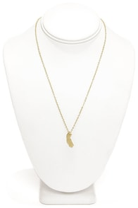 Back to Cali Cali Gold California Necklace at Lulus.com!