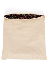 Roll Along Cream Clutch at Lulus.com!