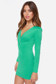 Foreign Film Sea Green Dress at Lulus.com!