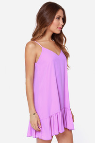 Let It Flow Silky Orchid Purple Dress at Lulus.com!