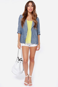 LULUS Exclusive Bel Air Baby Yellow Tank Top at Lulus.com!