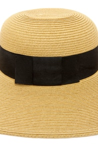 San Diego Hat Co. Cabana Beige Straw Hat at Lulus.com!