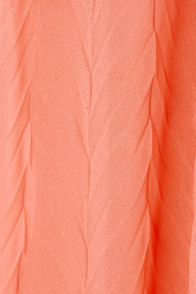 Flutter You Up Strapless Coral Maxi Dress at Lulus.com!