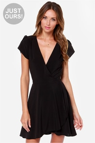 LULUS Exclusive One of These Nights Black Dress at Lulus.com!