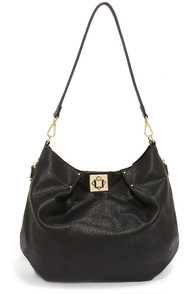 Big Buddha Lamont Black Tote at Lulus.com!