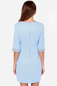 LULUS Exclusive Sleeve-ing Beauty Light Blue Dress at Lulus.com!
