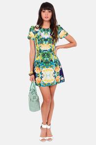 Ebb and Flow-er Floral Print Dress at Lulus.com!