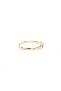 Happy Glam-per Gold Knuckle Ring at Lulus.com!