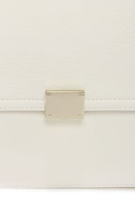 Tip of the Iceberg Ivory Satchel at Lulus.com!