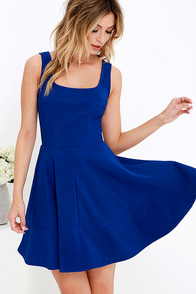 Home Before Daylight Cobalt Blue Dress