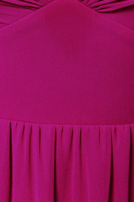 LULUS Exclusive Dreamed to Life Magenta Maxi Dress at Lulus.com!