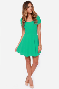 LULUS Exclusive Pretty Little Ditty Green Dress at Lulus.com!
