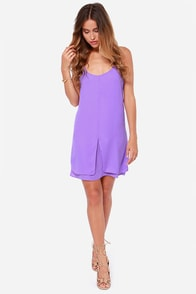 LULUS Exclusive Destined for Greatness Purple Dress at Lulus.com!
