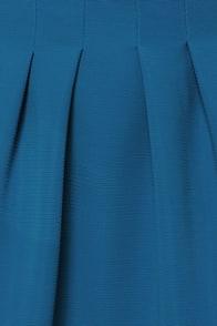 Seam Team Blue Skater Dress at Lulus.com!