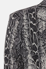 Costa Blanca Serpentine Dream Snake Print Blazer at Lulus.com!