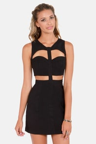 Show the Way Cutout Black Dress at Lulus.com!