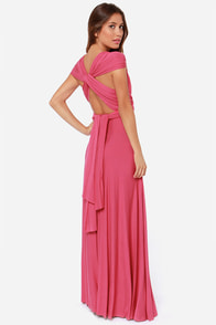 LULUS Exclusive Tricks of the Trade Rose Pink Maxi Dress at Lulus.com!