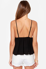 LULUS Exclusive Instant Gratification Black Tank Top at Lulus.com!