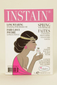 The Balm Instain Lace Bright Pink Powder Blush at Lulus.com!