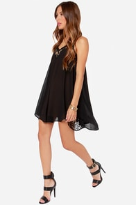 LULUS Exclusive Noir or Never Black Lace Dress at Lulus.com!