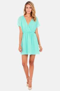 Mighty Aphrodite Sky Blue Dress at Lulus.com!