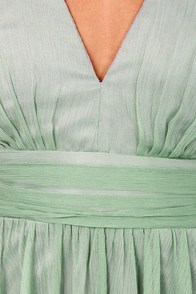 Blaque Label Fall Into Grace Sage Green Dress at Lulus.com!