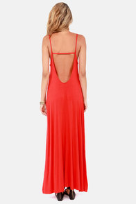 Such Great Heights Red Maxi Dress at Lulus.com!