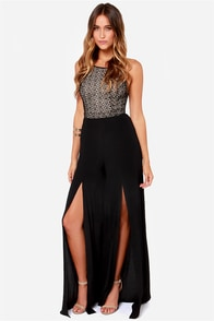 Strap Out Of It Backless Black Lace Jumpsuit at Lulus.com!