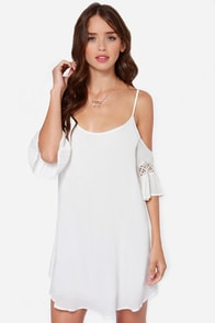 Nama-Stay the Night Ivory Dress at Lulus.com!