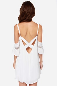 Nama-Stay the Night Ivory Dress at Lulus.com!