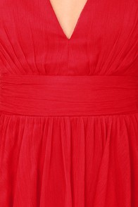 Blaque Label Fall Into Grace Red Dress at Lulus.com!