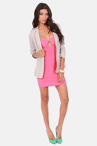 Sweetly Tempting Strapless Pink Dress at Lulus.com!