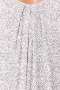 O'Neill Nevada Cream Print Maxi Dress at Lulus.com!