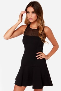 Whole Lotta Love Black Dress at Lulus.com!