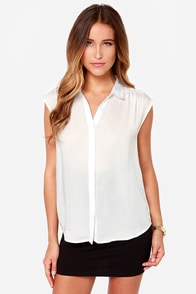 Prep It Up White Top at Lulus.com!