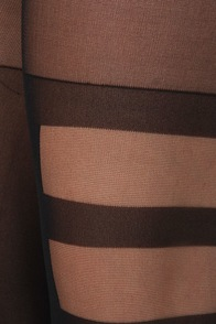 Stance Bondage Black Striped Tights at Lulus.com!