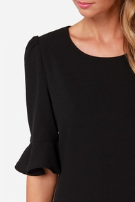 LULUS Exclusive Sunset Stroll Black Dress at Lulus.com!