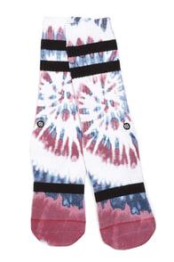 Stance Freedom Fire Tie-Dye Socks at Lulus.com!