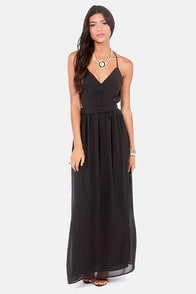 LULUS Exclusive Rooftop Garden Backless Black Dress at Lulus.com!