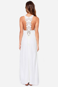LULUS Exclusive In Perfect Harmony Ivory Maxi Dress at Lulus.com!