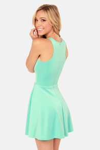 LULUS Exclusive Wanna Race? Mint Green Dress at Lulus.com!