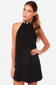 Keepsake Reckless Black Mini Dress at Lulus.com!