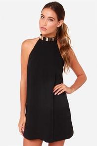 Keepsake Reckless Black Mini Dress