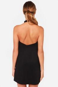 Keepsake Reckless Black Mini Dress at Lulus.com!