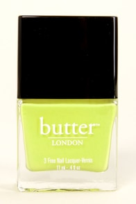 Butter London Wellies Chartreuse Nail Lacquer at Lulus.com!