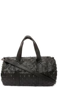 Weekend Rendezvous Black Duffle Bag at Lulus.com!