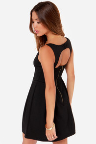 Others Follow Parallel Black Dress at Lulus.com!
