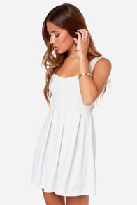 Others Follow Parallel Ivory Dress at Lulus.com!