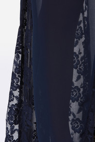LULUS Exclusive Under The Full Swoon Navy Blue Maxi Dress at Lulus.com!
