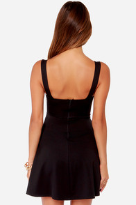 Into The Night Black Dress at Lulus.com!
